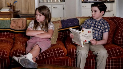 Young Sheldon 02x03 : A Crisis of Faith and Octopus Aliens- Seriesaddict